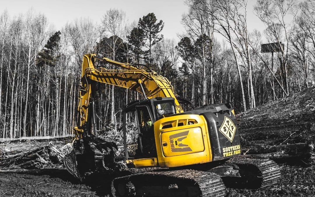 Southern Tree Pros Have the Right Equipment For Your Next Development